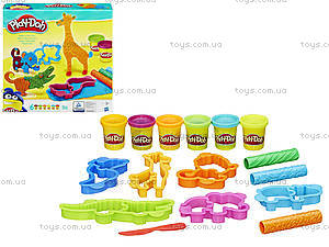 Игровой набор Play-Doh «Веселое сафари», B1168, купить