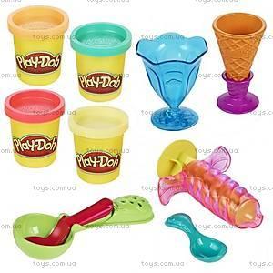 Игровой набор Play-Doh «Инструменты мороженщика», B1857, купить
