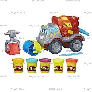 Игровой набор Play-Doh «Задорный Цементовоз», B1858, купить