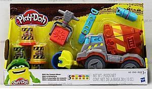 Игровой набор Play-Doh «Задорный Цементовоз», B1858