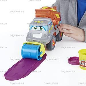 Игровой набор Play-Doh «Задорный Цементовоз», B1858, фото