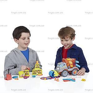 Игровой набор Play-Doh «Задорный Цементовоз», B1858, отзывы