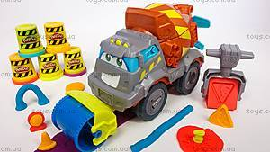 Игровой набор Play-Doh «Задорный Цементовоз», B1858, цена