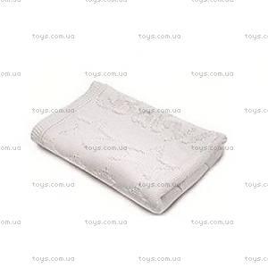 Плед вязаный BabyMatex, белый, 0135-1