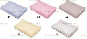 Плед вязаный BabyMatex, розовый, 0135-10, купить