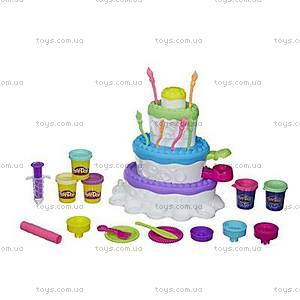 Плей До Игровой набор «Праздничный торт», А7401, фото