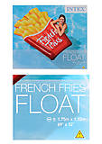 Плот в форме картошки фри, 58775