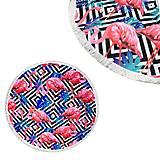 """Пляжный коврик """"Фламинго"""", K14345, доставка"""