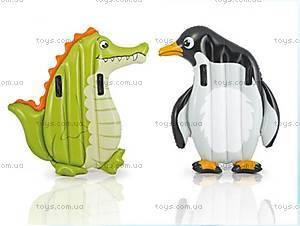 Пляжный надувной матрас «Животные», 58151, купить