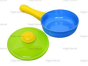 Плита с мойкой и посудой, в коробке, 04-411, игрушки