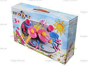 Плита с мойкой и посудой, в коробке, 04-411, детские игрушки