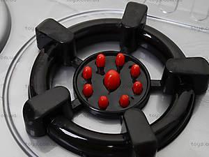Игрушечная плита с мойкой и посудой, 04-409, игрушки