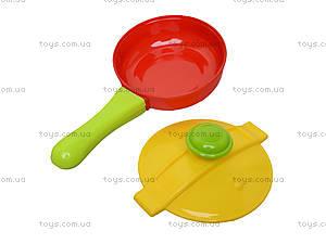 Игрушечная плита с мойкой и посудой, 04-409, детский