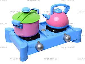 Детская плита с посудкой, 04-415, купить