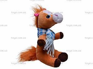 Плюшевая лошадь c шарфом, M-ZY1162, фото