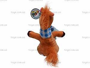 Плюшевая лошадь c шарфом, M-ZY1162, отзывы