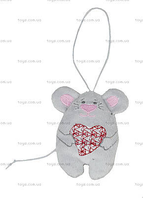 Плюшевая мышка «С любовью», VBBU0