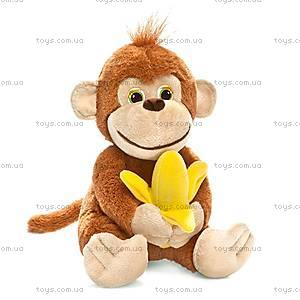 Плюшевая игрушка «Обезьянка Маня с бананом», LA8706