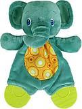 Плюшевая игрушка-прорезыватель «Слоненок», 8916-1, іграшки