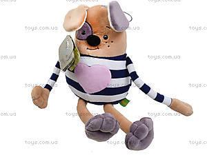 Плюшевая игрушка «Пёсик Куся», К398Т, фото