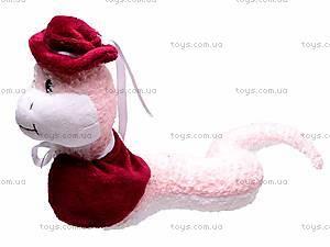 Плюшевая змея «Моника», К315М, фото