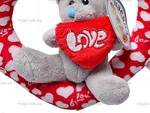 Плюшевое сердце с медвежонком, AB9193A/15, купить