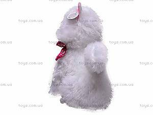 Плюшевый белый кот, ZY1085B/36, купить