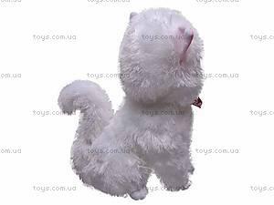 Плюшевый белый кот, ZY1085B/36, фото