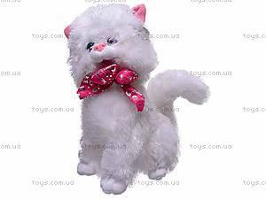 Плюшевый белый кот, ZY1085B/36