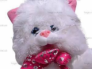 Плюшевый белый кот, ZY1085B/36, отзывы
