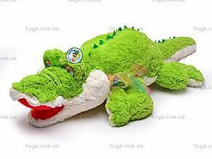 Плюшевый детский крокодил, F-F2388F