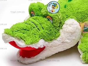 Плюшевый детский крокодил, F-F2388F, купить