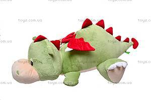 Плюшевый дракон «Нортон», лежачий, К263А, купить