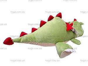 Плюшевый дракон «Нортон», лежачий, К263А, фото