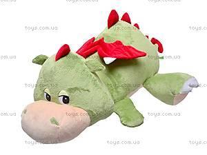 Плюшевый дракон «Нортон», лежачий, К263А
