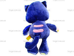 Плюшевый кот «Мажор» сидячий, К365М, фото