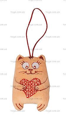 Плюшевый котик «С любовью», VKBU0