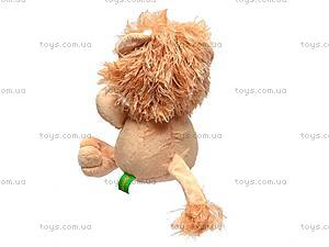 Плюшевый львенок «Ларчик», К292АС, купить