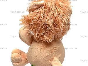 Плюшевый львенок «Ларчик», К292АС, игрушки