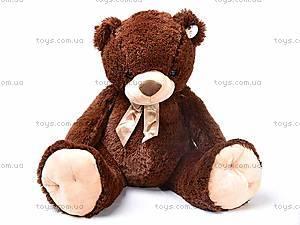 Плюшевый медведь, с бантиком, Q-112-090