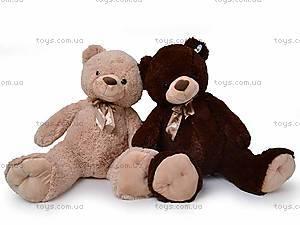 Плюшевый медведь, с бантиком, Q-112-090, купить