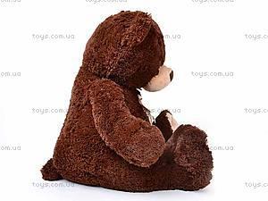 Плюшевый медведь, с бантиком, Q-112-090, фото