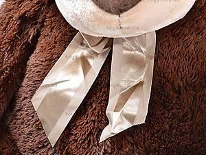 Плюшевый медведь, с бантиком, Q-112-090, отзывы