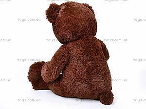 Плюшевый медведь, с бантиком, Q-112-090, игрушки