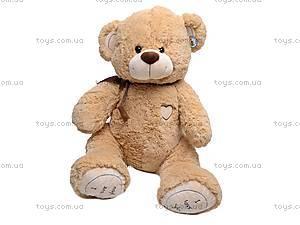 Плюшевый медведь, с бантом, S-JY-4505/70
