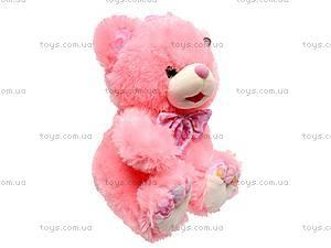 Плюшевый медведь с бантом, S38-3414X36, фото