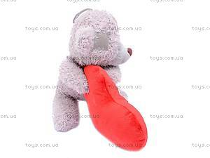 Плюшевый медведь с сердцем, ABX18774/25, купить