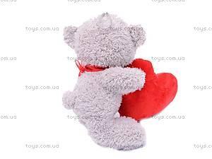 Плюшевый медведь с сердцем, ABX18774/25, фото