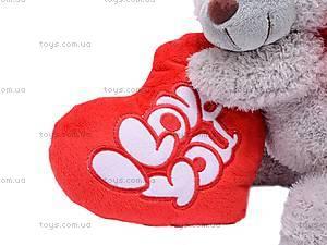 Плюшевый медведь с сердцем, ABX18774/25, цена