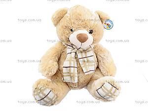 Плюшевый медведь, с шарфом, S-YZ-4036/46S